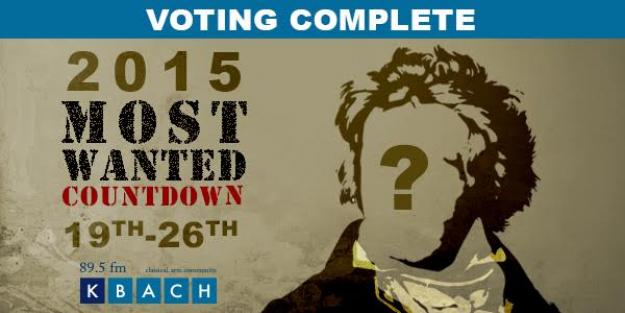 2015 Most Wanted Countdown